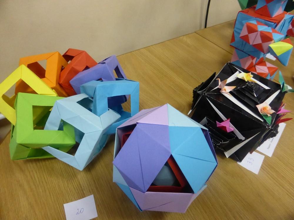 Оригами как творчество